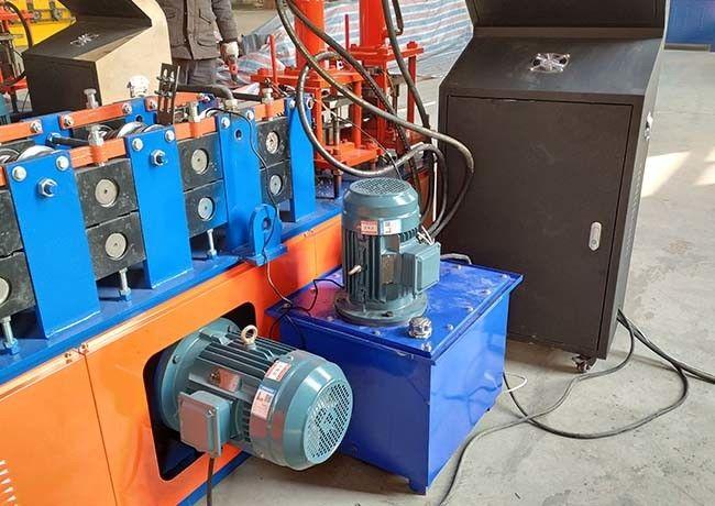 Rolo de aço da quilha da luz do OEM que forma a máquina com sistema hidráulico do corte